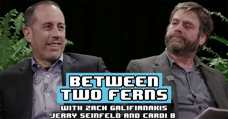 Between Two Ferns is Back and Seinfeld and Cardi B are the Guests