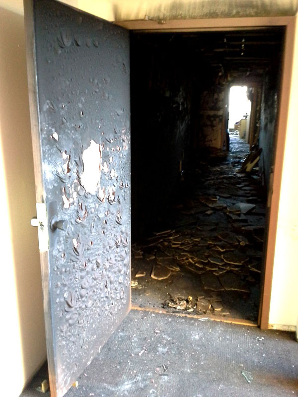 the importance of a fire door 4 The Importance of a Fire Door in One Image