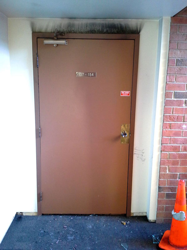 the importance of a fire door 5 The Importance of a Fire Door in One Image