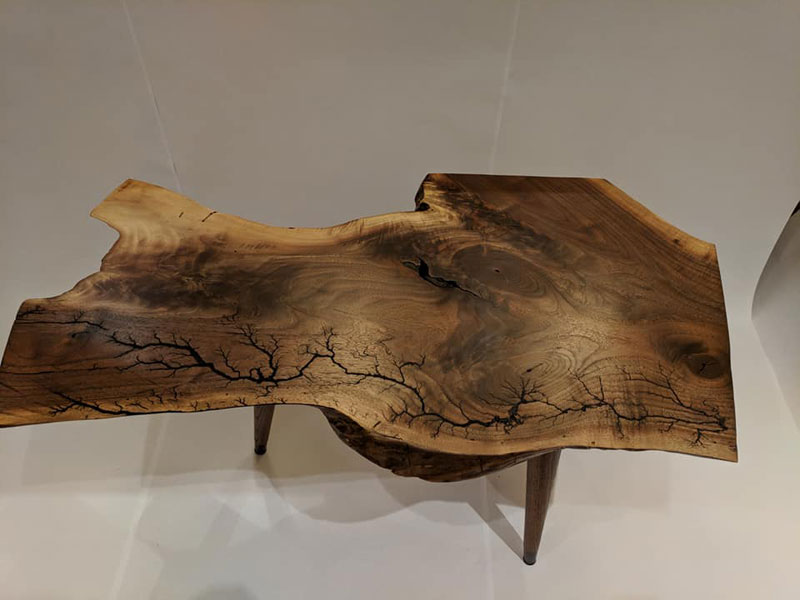 this artist burns fractals into wood and then turns it into furniture 9 This Artist Burns Fractals Into Wood and Then Turns It Into Furniture