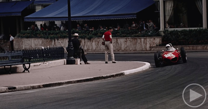 This HQ 70mm Footage of the 1962 Monaco Grand Prix is Incredible