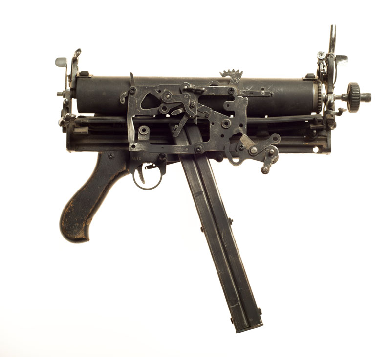 typewriter gun sculptures by ravi zupa mightier than series 11 Sculptural Guns Made from Typewriters Because Words are Mightier