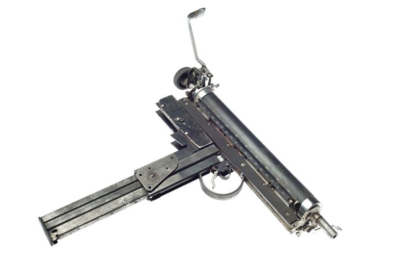 typewriter gun sculptures by ravi zupa mightier than series 6 Sculptural Guns Made from Typewriters Because Words are Mightier