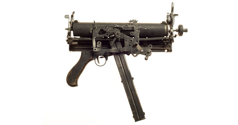 Sculptural Guns Made from Typewriters Because Words areMightier