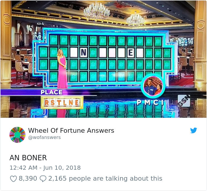 wheel of fortune answers twitter parody account 3 This Wheel of Fortune Parody Accounts Attempts to Solve the Puzzle are Amazing