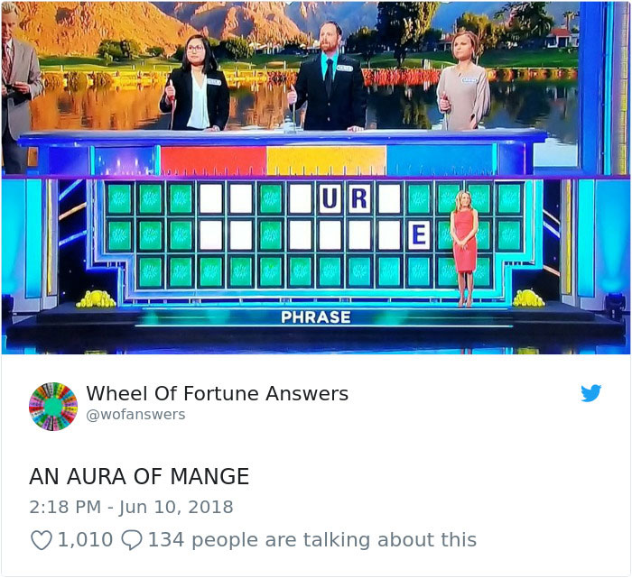 wheel of fortune answers twitter parody account 4 This Wheel of Fortune Parody Accounts Attempts to Solve the Puzzle are Amazing