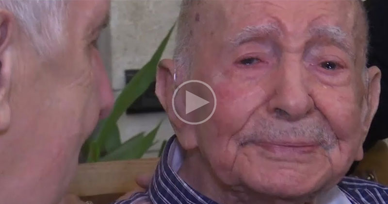 102 Year Old Holocaust Survivor Meets Nephew After Thinking His Entire FamilyDied