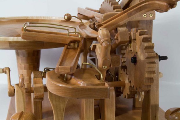 gravity well marble machines by larry marley 5 The Fantastic Gravity Well Marble Machines of Larry Marley