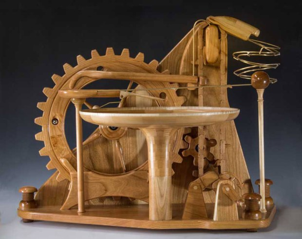 gravity well marble machines by larry marley 6 The Fantastic Gravity Well Marble Machines of Larry Marley