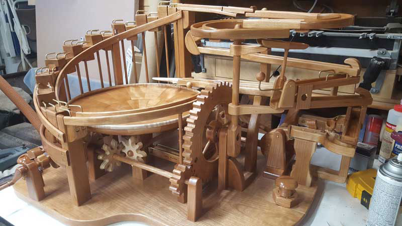 gravity well marble machines by larry marley 7 The Fantastic Gravity Well Marble Machines of Larry Marley