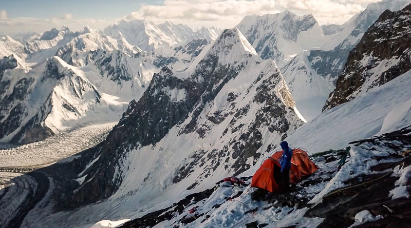 k2 first descent on skis andrzej bargiel red bull july 22 2018 10 First Descent: Polish Mountaineer Andrzej Bargiel Skies Down From the Top of K2