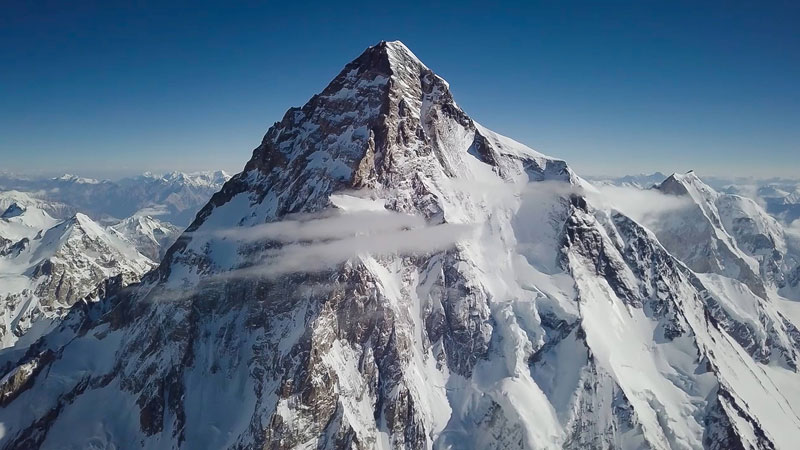 k2 first descent on skis andrzej bargiel red bull july 22 2018 11 First Descent: Polish Mountaineer Andrzej Bargiel Skies Down From the Top of K2