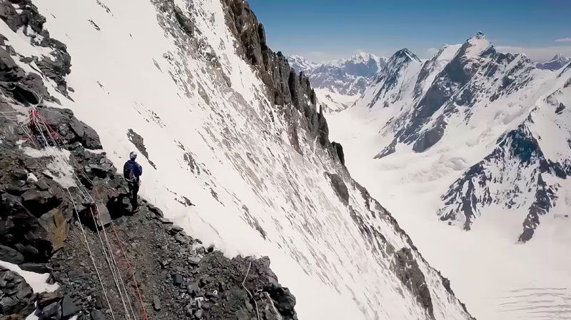 k2 first descent on skis andrzej bargiel red bull july 22 2018 12 First Descent: Polish Mountaineer Andrzej Bargiel Skies Down From the Top of K2