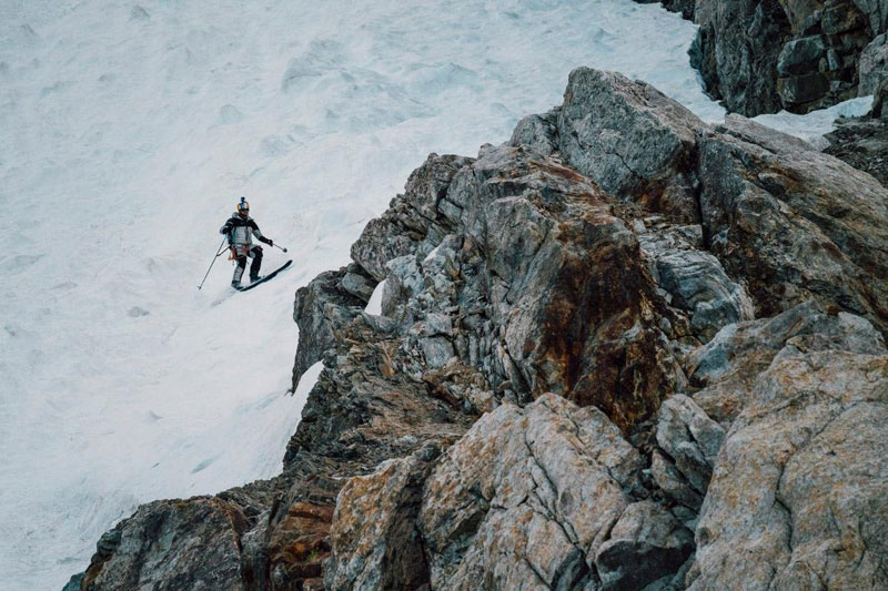 k2 first descent on skis andrzej bargiel red bull july 22 2018 5 First Descent: Polish Mountaineer Andrzej Bargiel Skies Down From the Top of K2