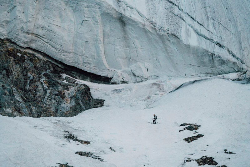 k2 first descent on skis andrzej bargiel red bull july 22 2018 7 First Descent: Polish Mountaineer Andrzej Bargiel Skies Down From the Top of K2