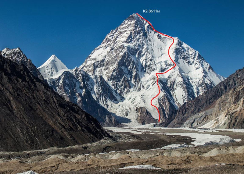 k2 first descent on skis andrzej bargiel red bull july 22 2018 9 First Descent: Polish Mountaineer Andrzej Bargiel Skies Down From the Top of K2