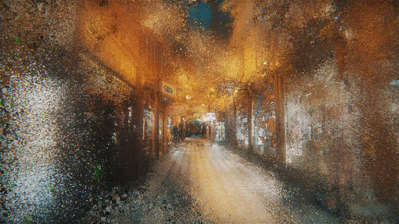 paris wandering by benjamin bardou 11 An Artists Dreamlike Stroll Through the Streets of Paris