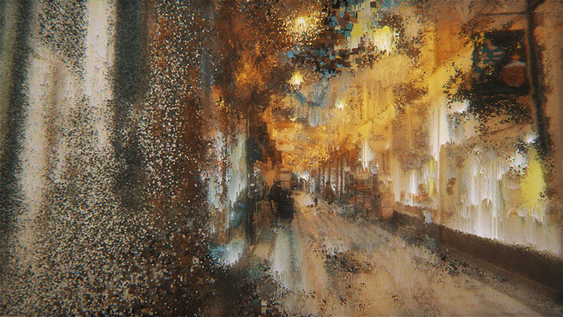 paris wandering by benjamin bardou 9 An Artists Dreamlike Stroll Through the Streets of Paris
