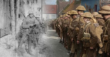 Image result for first world war colour film gif