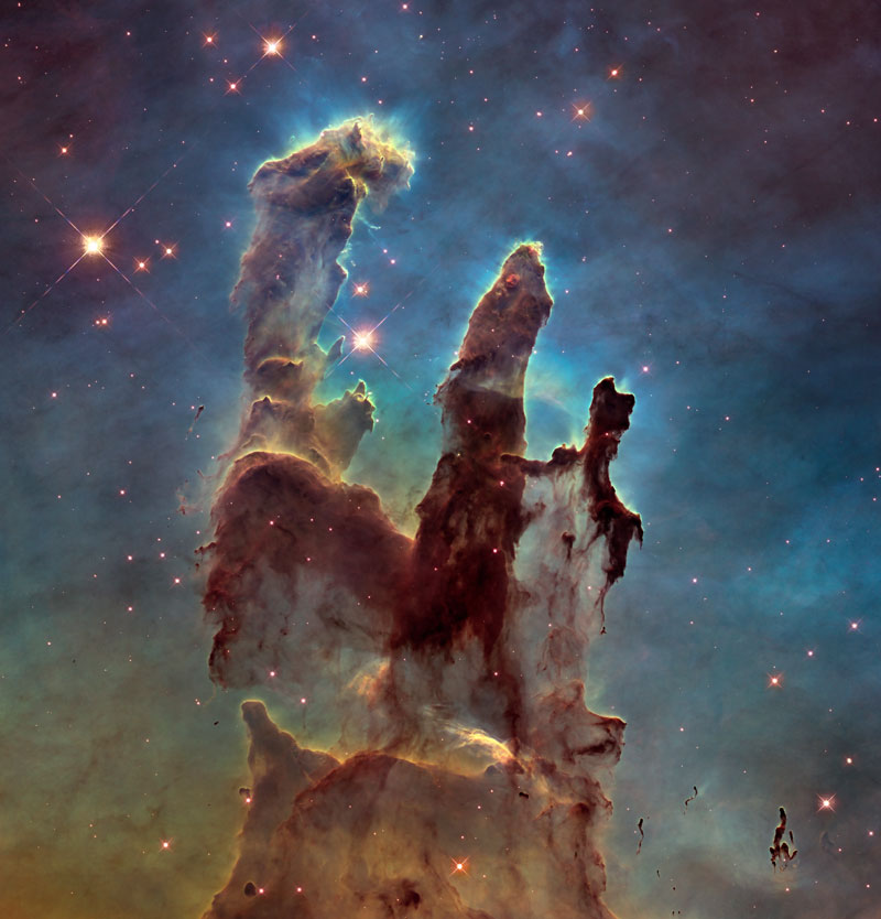 putting the pillars of creation into perspective 3 Putting the Pillars of Creation Into Perspective