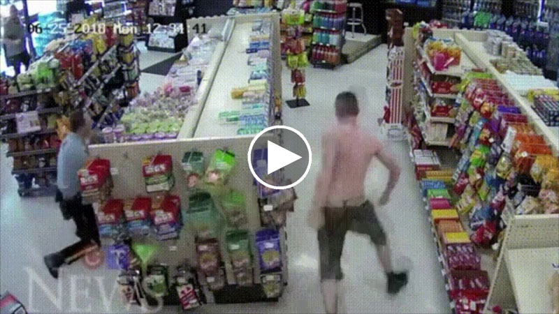 Absolutely the Most Absurd Robbery and Escape Attempt You Will See Today