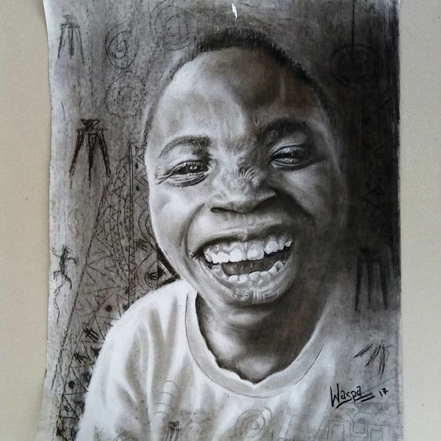 11 year old hyperrealist artist kareem waris olamilekan waspa nigeria 13 11 Year Old Hyperrealist from Nigeria Wows With Stunning Artworks
