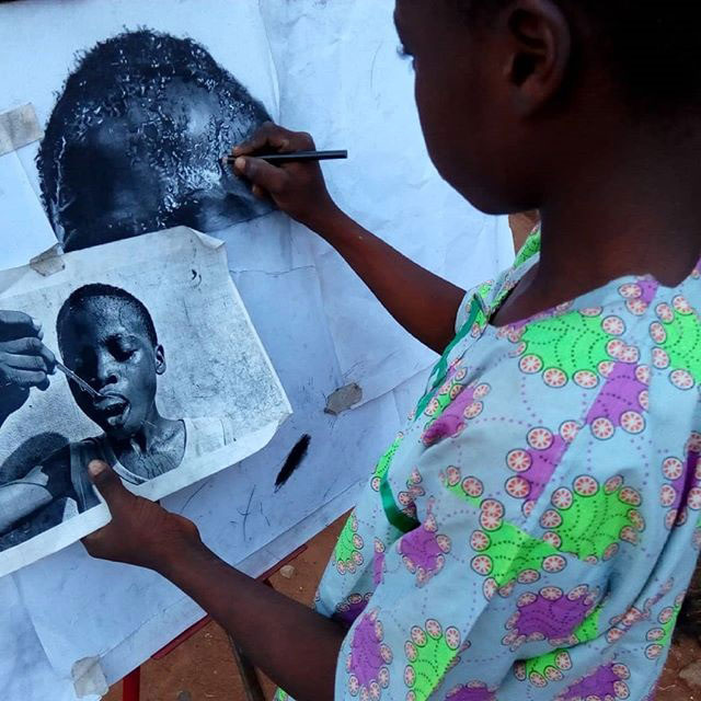 11 year old hyperrealist artist kareem waris olamilekan waspa nigeria 3 11 Year Old Hyperrealist from Nigeria Wows With Stunning Artworks