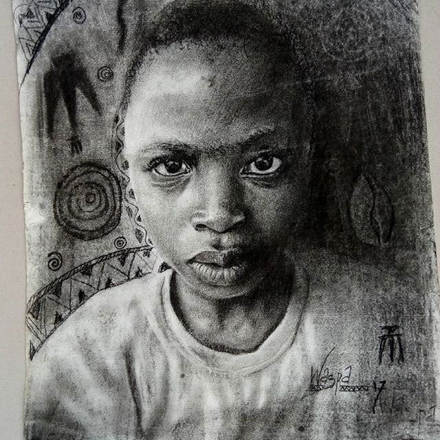 11 year old hyperrealist artist kareem waris olamilekan waspa nigeria 4 11 Year Old Hyperrealist from Nigeria Wows With Stunning Artworks