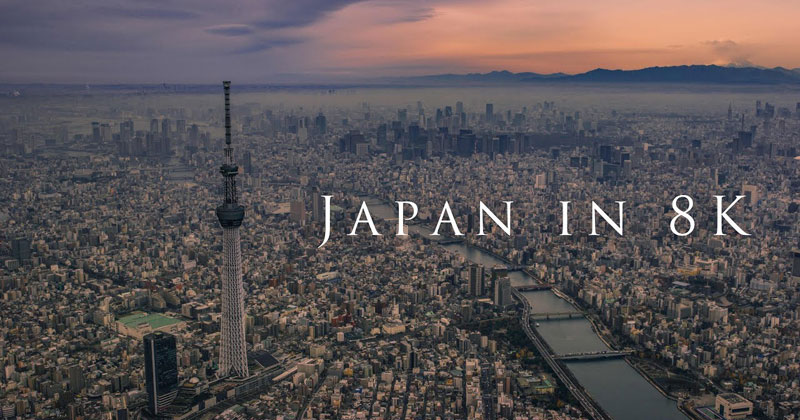 This 8K Tour of Japan is SimplyBreathtaking