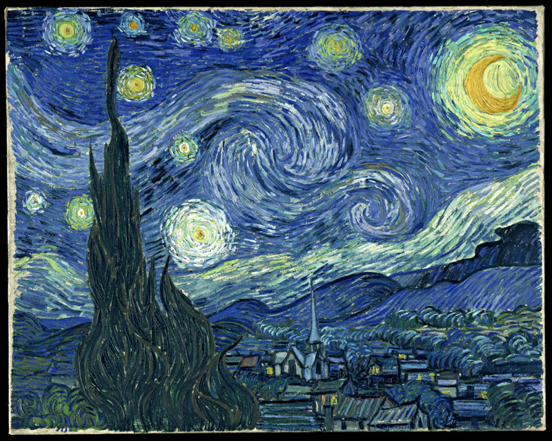 best starry night mashups 10 The 10 Best Starry Night Mashups on the Web