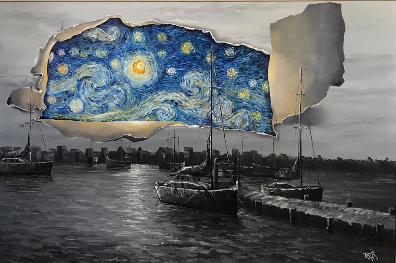 best starry night mashups 11 The 10 Best Starry Night Mashups on the Web