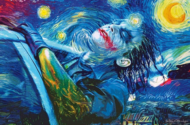 best starry night mashups 12 The 10 Best Starry Night Mashups on the Web