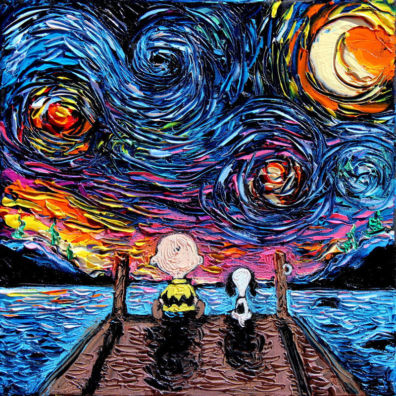 best starry night mashups 2 The 10 Best Starry Night Mashups on the Web