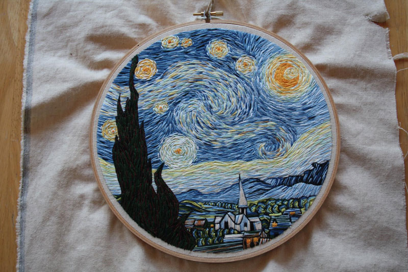 best starry night mashups 3 The 10 Best Starry Night Mashups on the Web
