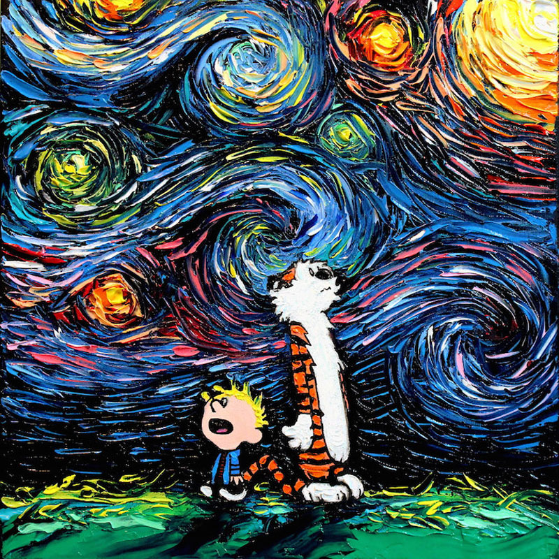best starry night mashups 6 The 10 Best Starry Night Mashups on the Web