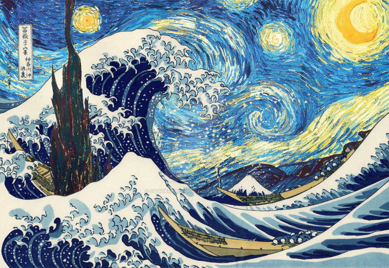 best starry night mashups 9 The 10 Best Starry Night Mashups on the Web