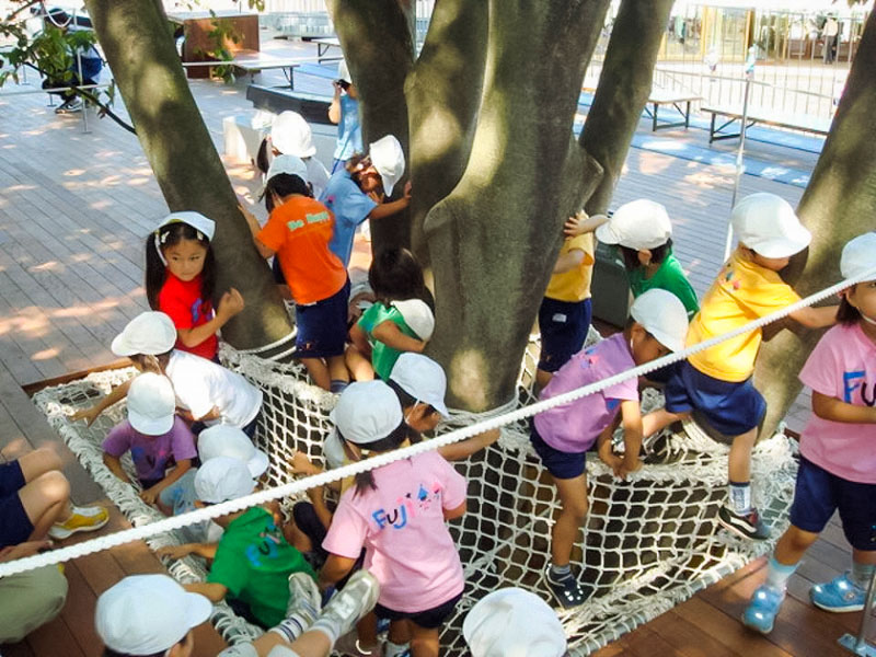 coolest kindergarten ever tezuka architects japan 17 A Japanese Architecture Firm Designed the Coolest Kindergarten Ever
