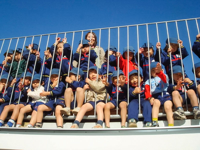 coolest kindergarten ever tezuka architects japan 18 A Japanese Architecture Firm Designed the Coolest Kindergarten Ever