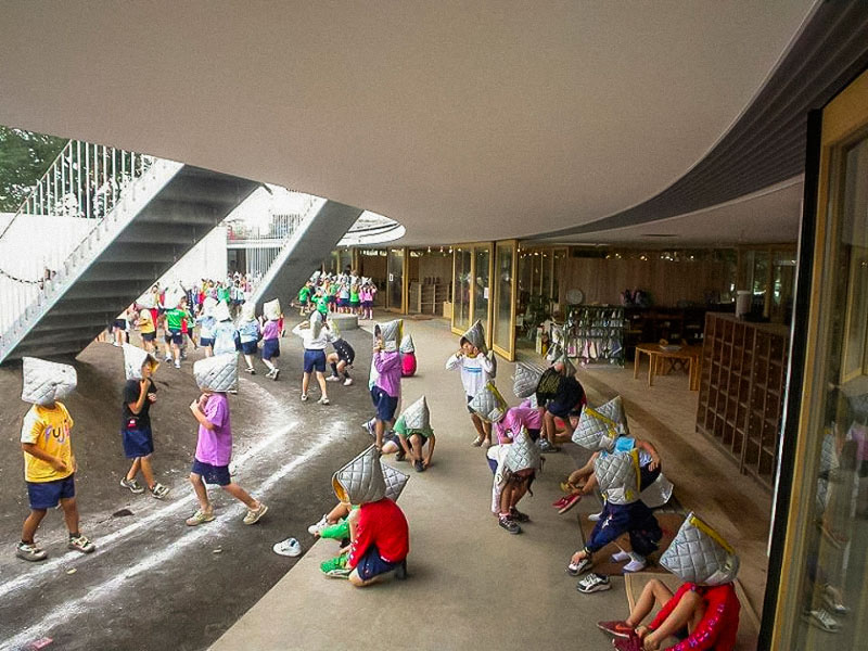 coolest kindergarten ever tezuka architects japan 20 A Japanese Architecture Firm Designed the Coolest Kindergarten Ever