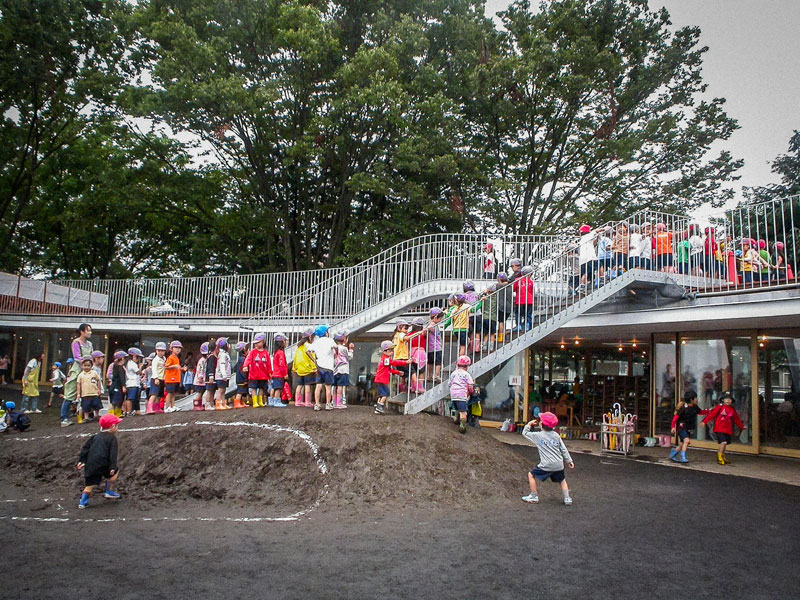 coolest kindergarten ever tezuka architects japan 21 A Japanese Architecture Firm Designed the Coolest Kindergarten Ever