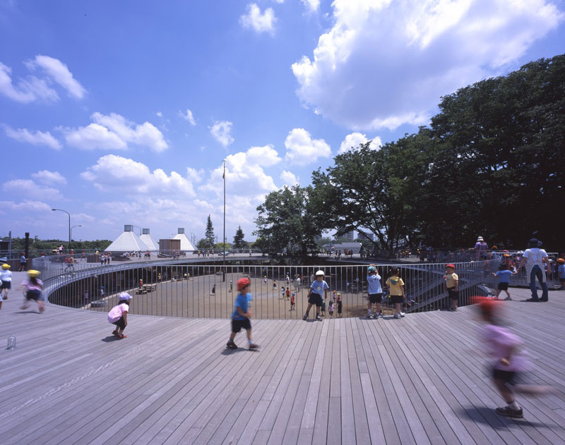 coolest kindergarten ever tezuka architects japan 4 A Japanese Architecture Firm Designed the Coolest Kindergarten Ever