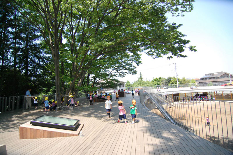 coolest kindergarten ever tezuka architects japan 6 A Japanese Architecture Firm Designed the Coolest Kindergarten Ever