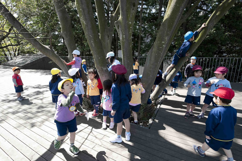 coolest kindergarten ever tezuka architects japan 7 A Japanese Architecture Firm Designed the Coolest Kindergarten Ever
