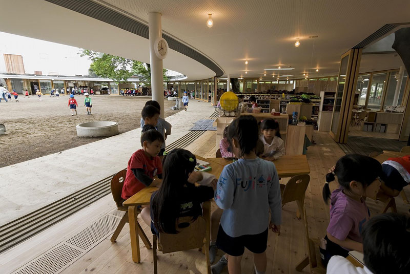 coolest kindergarten ever tezuka architects japan 8 A Japanese Architecture Firm Designed the Coolest Kindergarten Ever