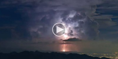 Amazing Timelapse Captures Crazy Lightning Storm NearTokyo
