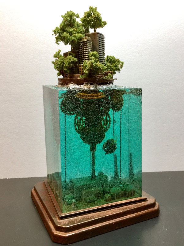 miniature post apocalyptic cityscapes by masaki seki 4 Miniature Post Apocalyptic Cityscapes by Masaki Seki (9 Photos)