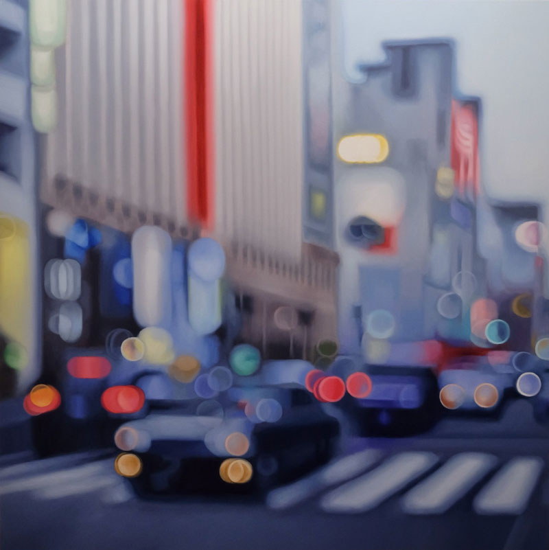 painter philip barlow captures what the world looks like to people with blurry vision 10 Painter Captures What the World Looks Like to People With Blurry Vision
