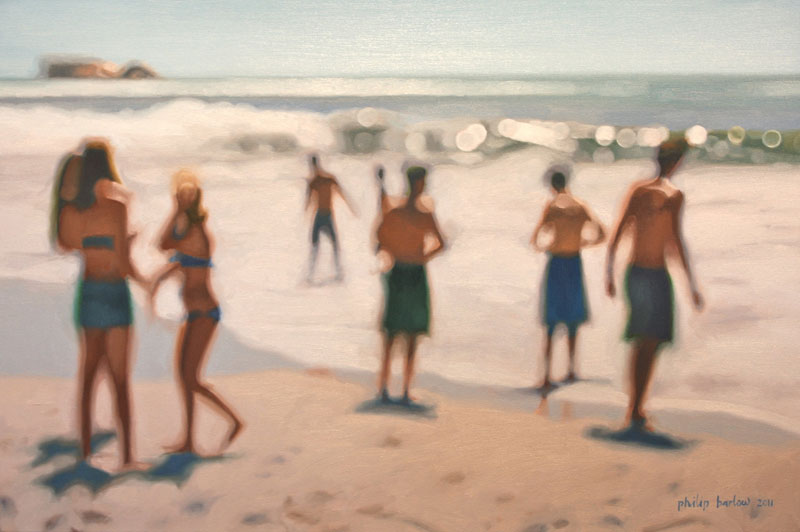 painter philip barlow captures what the world looks like to people with blurry vision 11 Painter Captures What the World Looks Like to People With Blurry Vision
