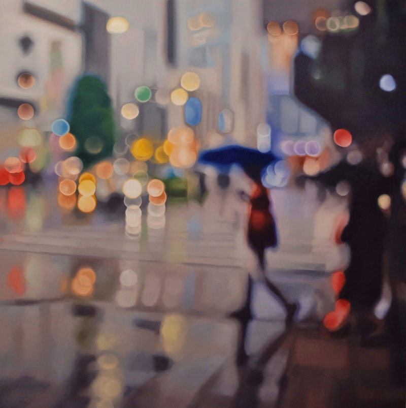 painter philip barlow captures what the world looks like to people with blurry vision 12 Painter Captures What the World Looks Like to People With Blurry Vision