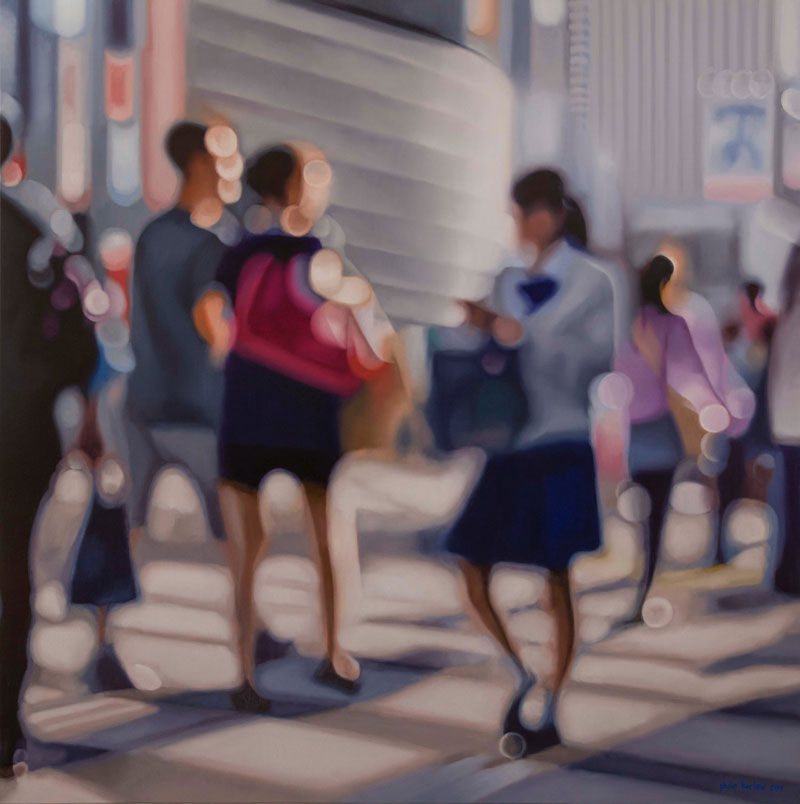 painter philip barlow captures what the world looks like to people with blurry vision 2 Painter Captures What the World Looks Like to People With Blurry Vision